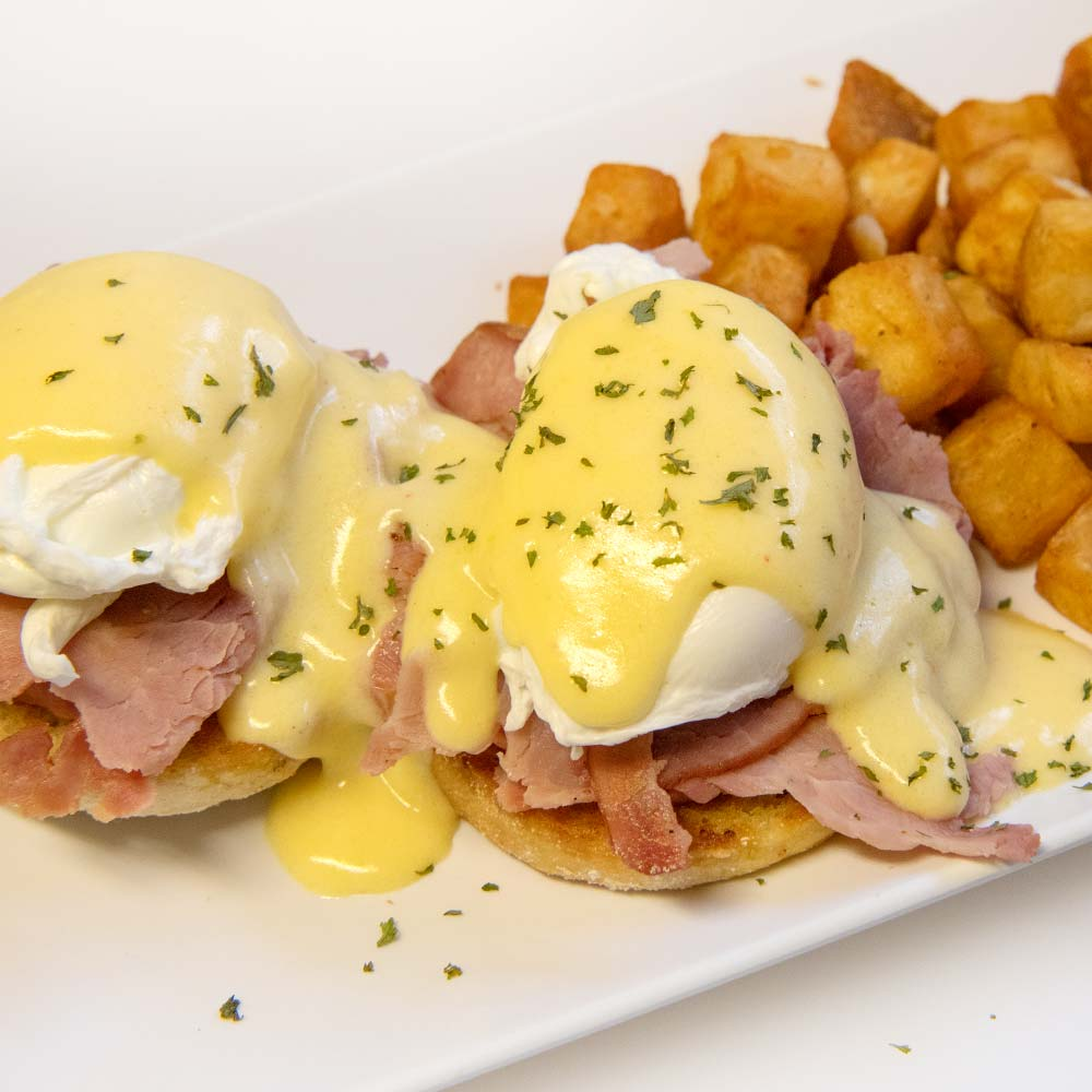 Saturday and Sunday Brunch Eggs Benedict